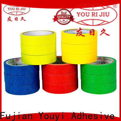 Yourijiu high adhesion adhesive masking tape easy to use for bundling tabbing