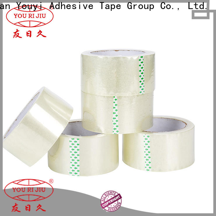 Yourijiu bopp tape factory price for carton sealing