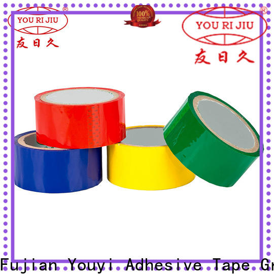 Yourijiu odorless bopp packaging tape supplier for strapping