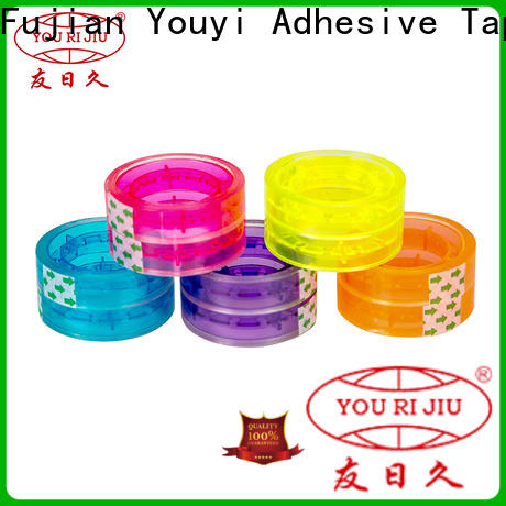 Yourijiu colored tape high efficiency for auto-packing machine