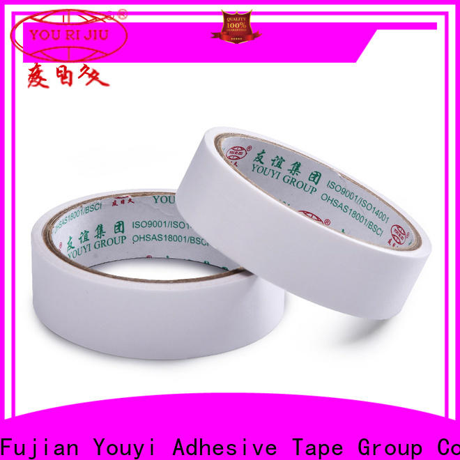 Yourijiu professional double side tissue tape promotion for stationery