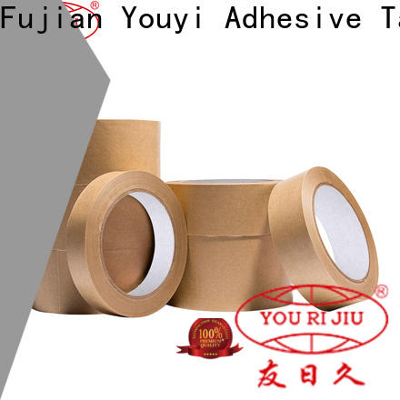 Yourijiu kraft tape factory price for stationary