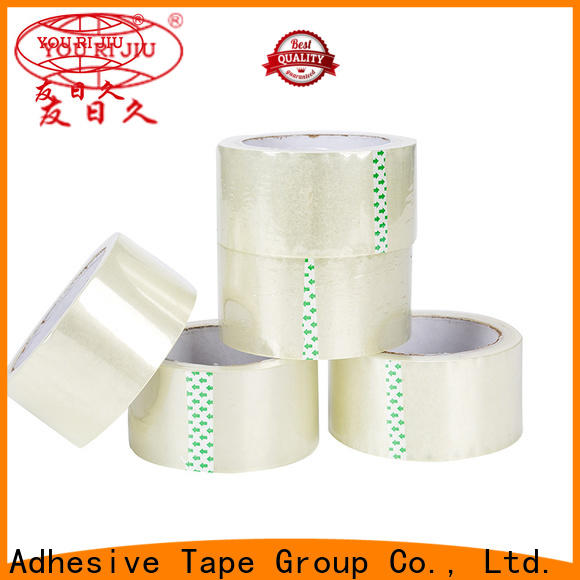 transparent bopp packing tape high efficiency for carton sealing