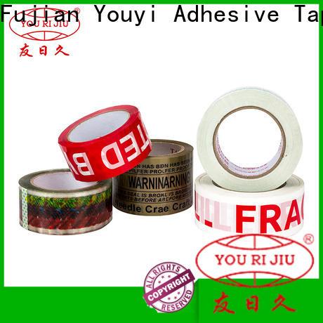 Yourijiu odorless bopp tape anti-piercing for decoration bundling