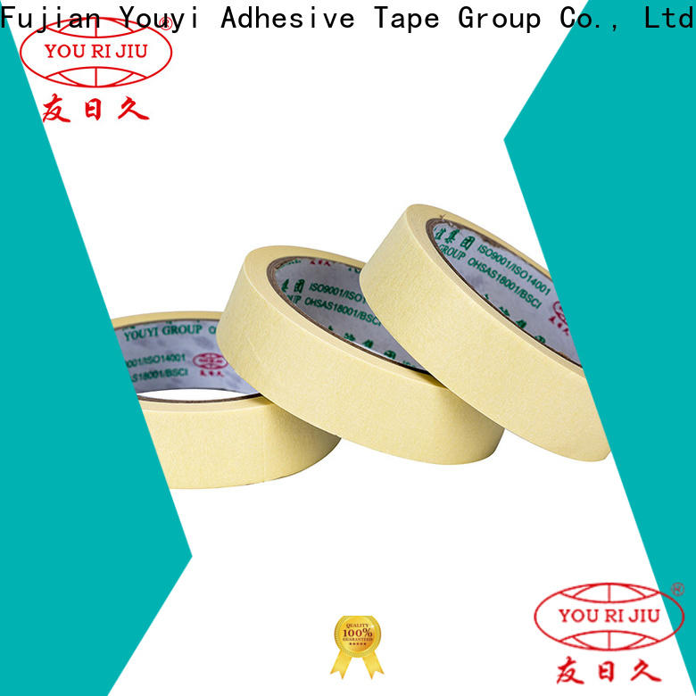 Yourijiu no residue paper masking tape wholesale for home decoration