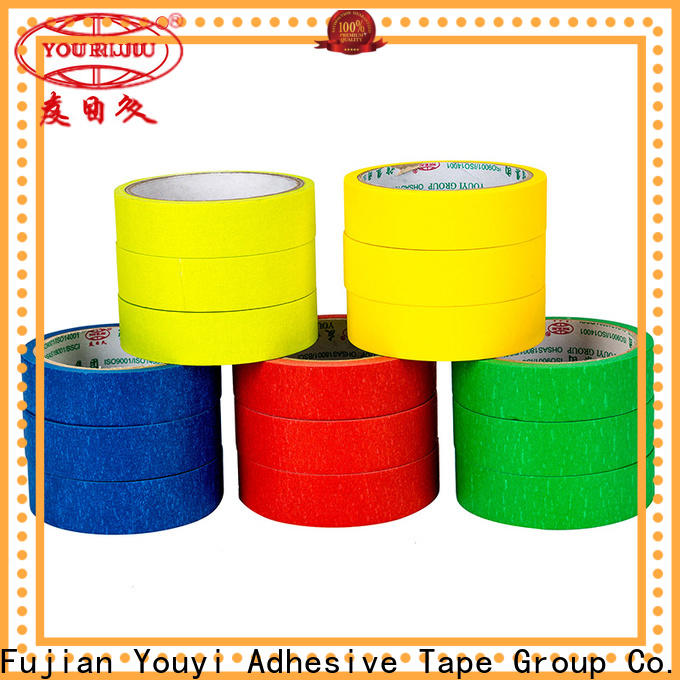 Yourijiu masking tape price easy to use for woodwork
