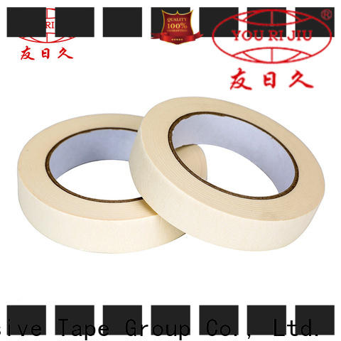 Yourijiu high temperature resistance adhesive masking tape directly sale for bundling tabbing