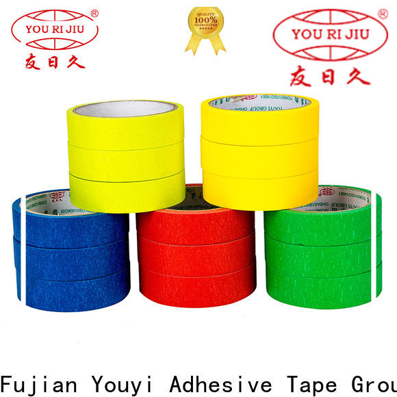 Yourijiu adhesive masking tape directly sale for light duty packaging
