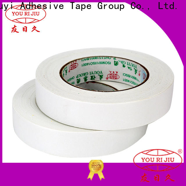 Yourijiu professional two sided tape promotion for stickers
