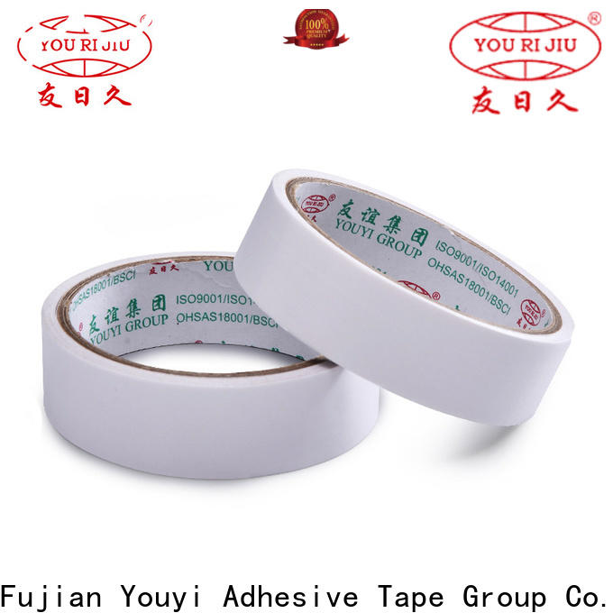 Yourijiu professional two sided tape manufacturer for stickers