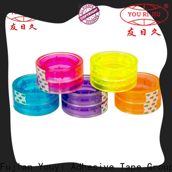 Yourijiu bopp stationery tape supplier for gift wrapping