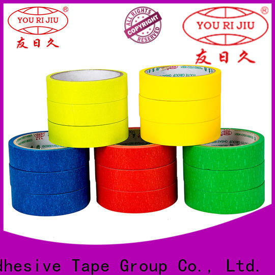 Yourijiu no residue masking tape price directly sale for home decoration