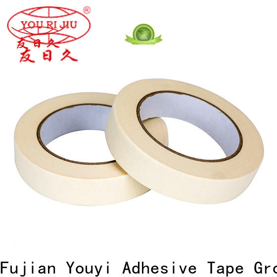 Yourijiu high temperature resistance masking tape price supplier for home decoration