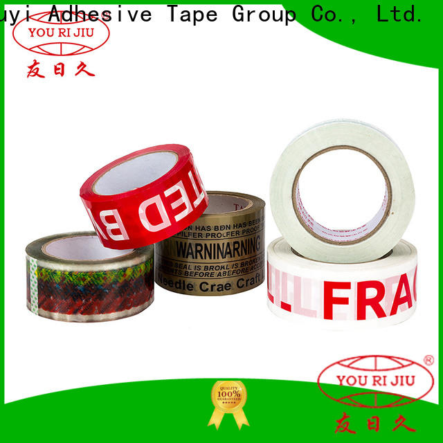 Yourijiu bopp adhesive tape factory price for auto-packing machine