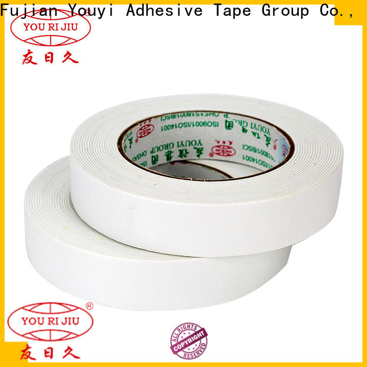 Yourijiu aging resistance two sided tape manufacturer for stationery