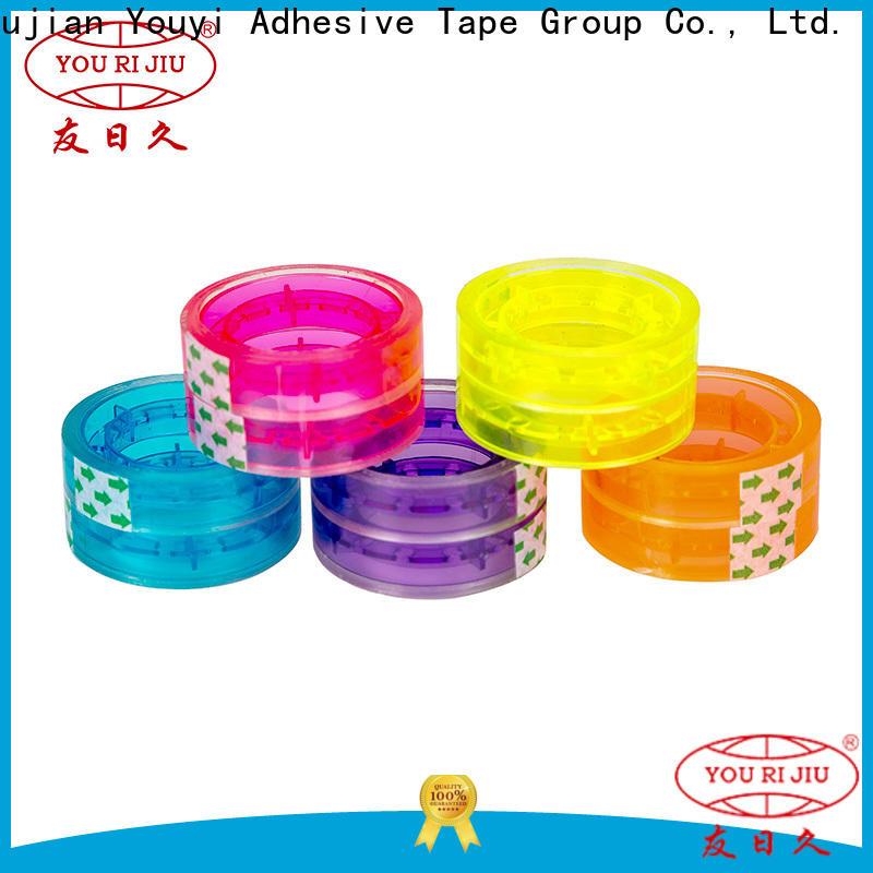 Yourijiu odorless bopp printed tape anti-piercing for auto-packing machine