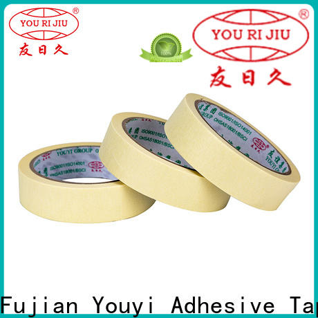 high temperature resistance paper masking tape wholesale for home decoration