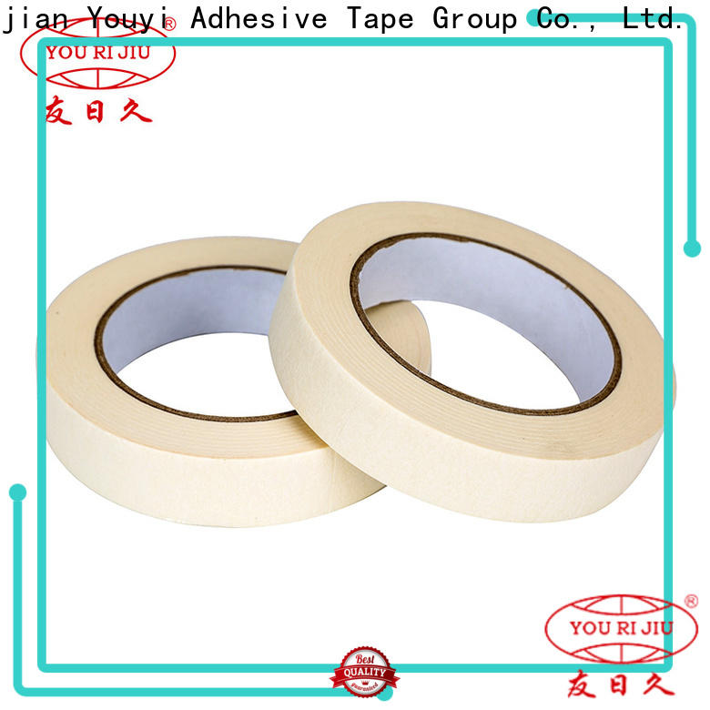 high temperature resistance adhesive masking tape easy to use for bundling tabbing