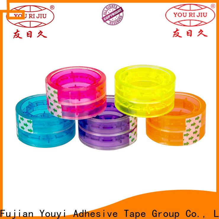 good quality bopp adhesive tape supplier for carton sealing