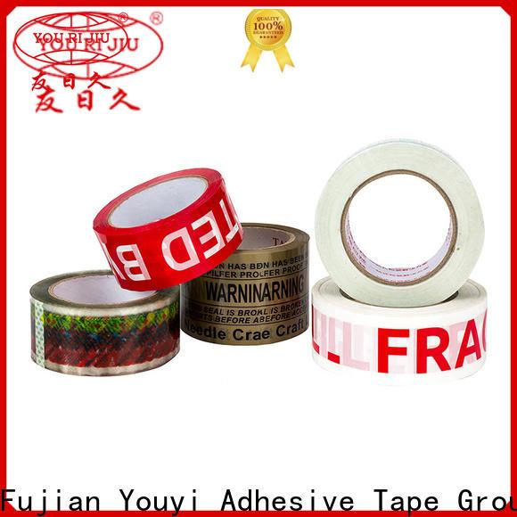Yourijiu bopp packing tape supplier for carton sealing
