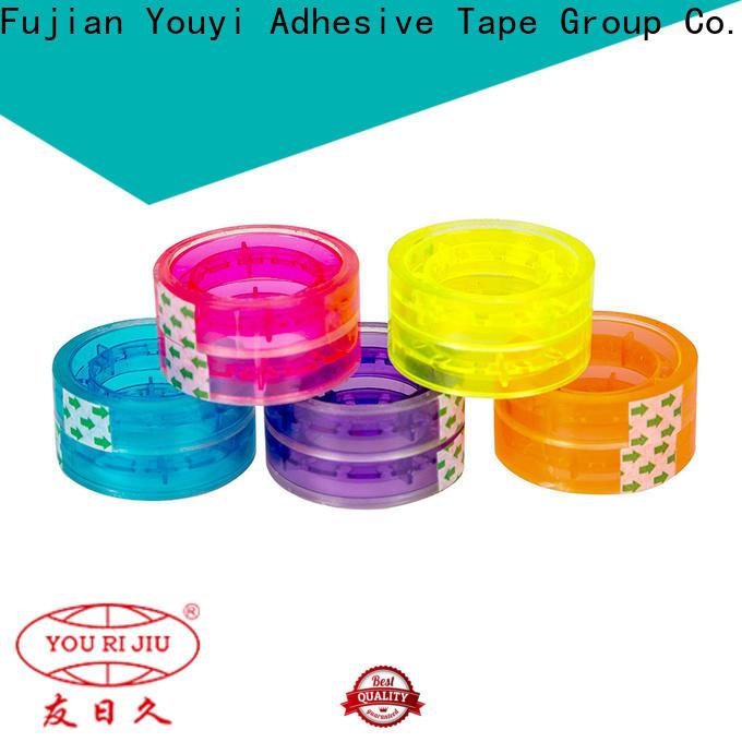 transparent bopp tape high efficiency for decoration bundling