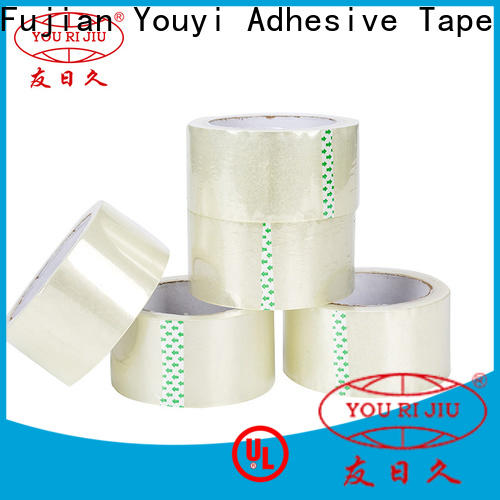 Yourijiu non-toxic clear tape supplier for auto-packing machine