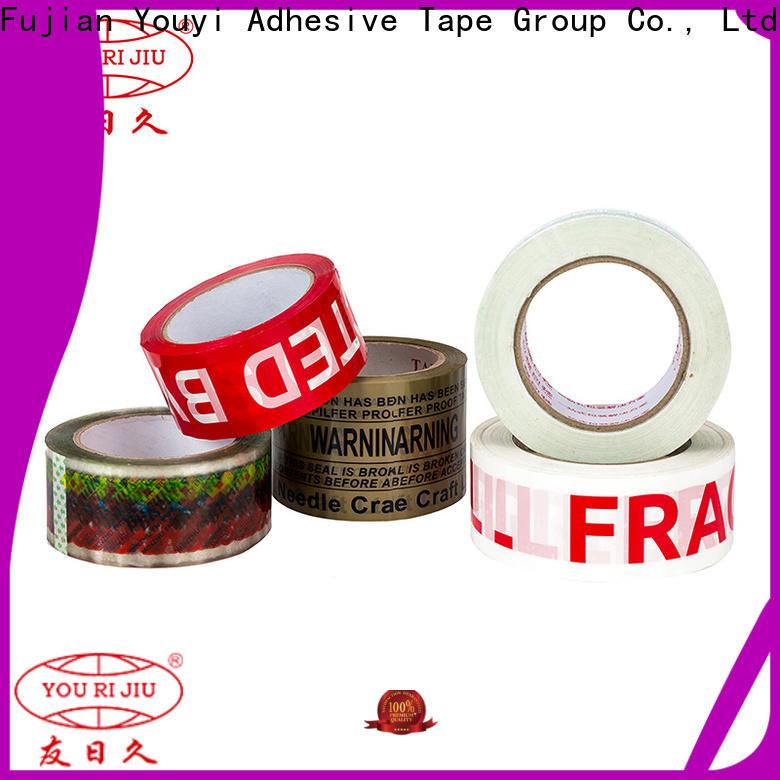 transparent bopp printed tape anti-piercing for carton sealing
