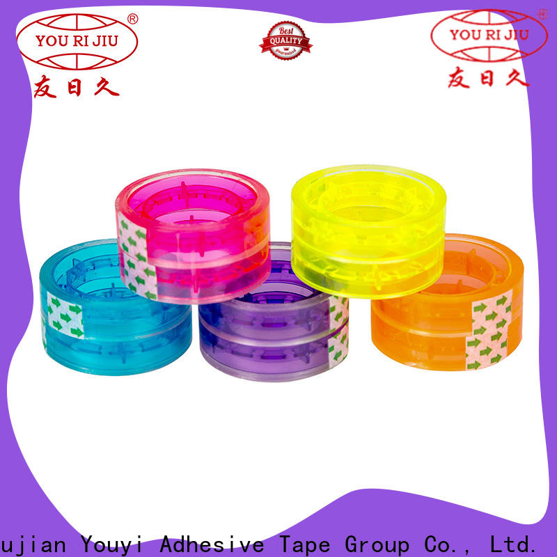 Yourijiu non-toxic colored tape anti-piercing for gift wrapping