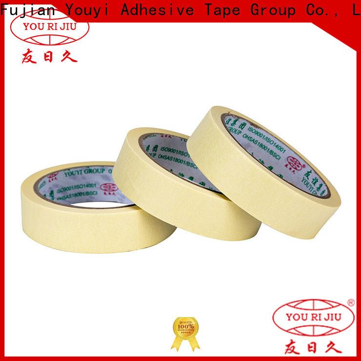 Yourijiu high adhesion masking tape easy to use for bundling tabbing