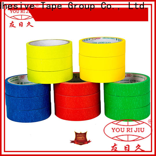 no residue paper masking tape supplier for light duty packaging