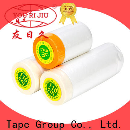 multi purpose Pre-taped masking Film for painting
