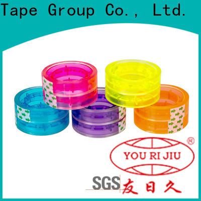 Yourijiu clear tape high efficiency for strapping