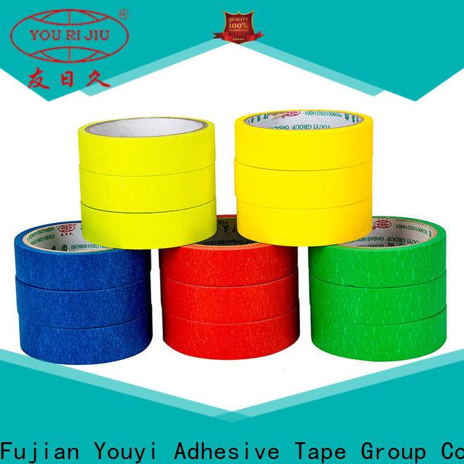 Yourijiu masking tape supplier for bundling tabbing