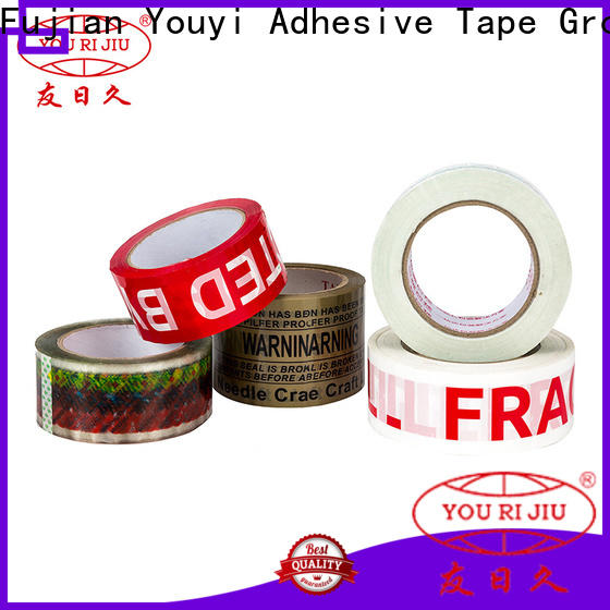 Yourijiu good quality bopp packing tape anti-piercing for gift wrapping