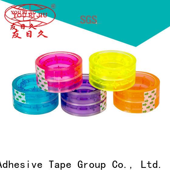 transparent bopp packing tape factory price for decoration bundling