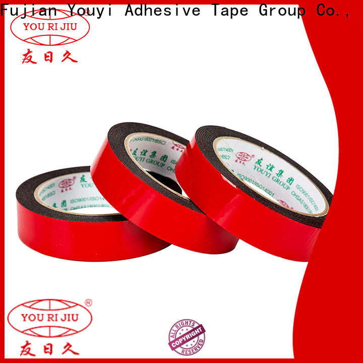 Yourijiu professional double sided tape manufacturer for food