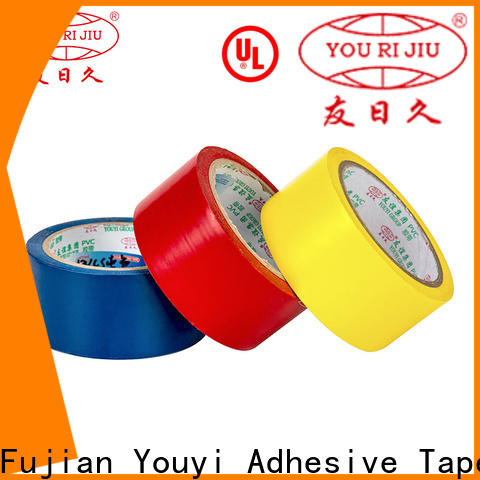 professional pvc adhesive tape factory price for insulation damage repair