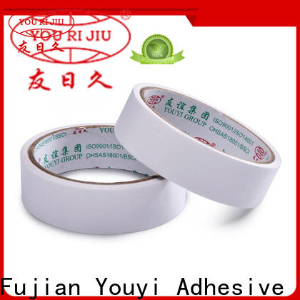 Yourijiu two sided tape manufacturer for stickers