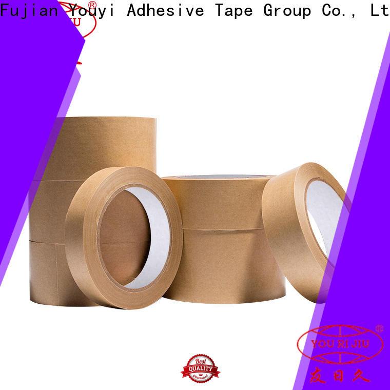 Yourijiu kraft tape factory price for stationary