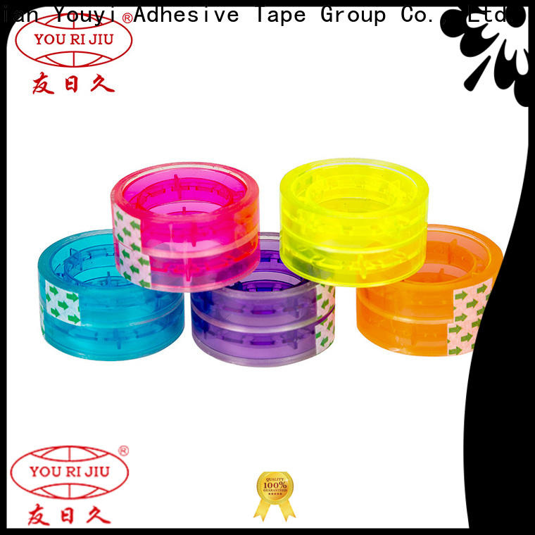 odorless bopp adhesive tape supplier for gift wrapping