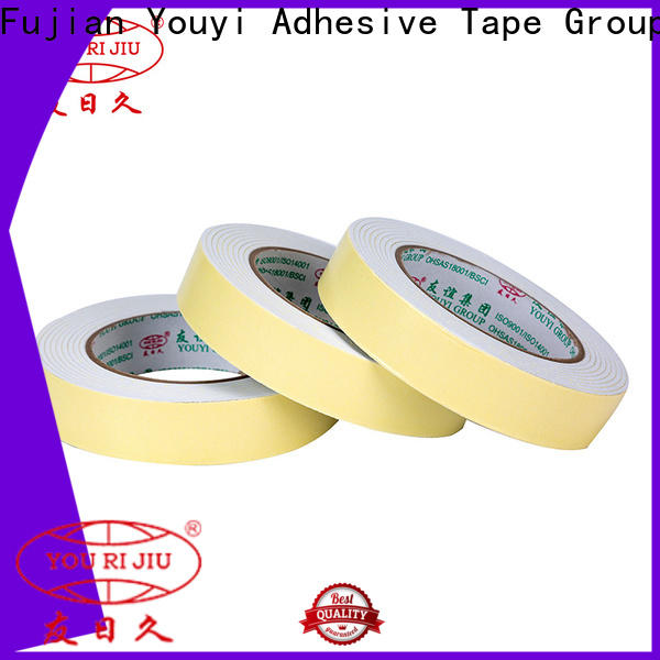 anti-skidding double sided foam tape manufacturer for stationery