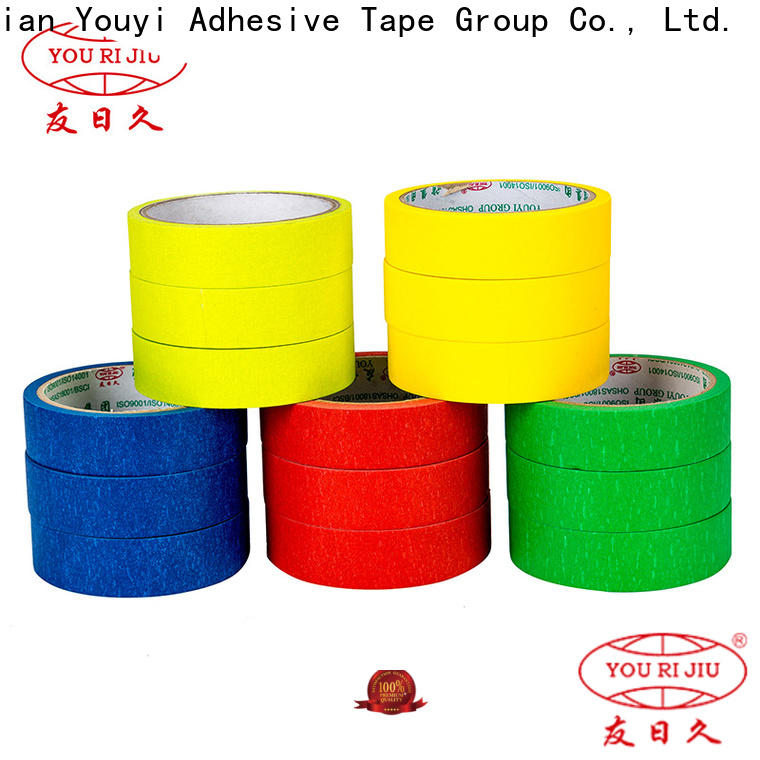 Yourijiu high temperature resistance adhesive masking tape easy to use for home decoration