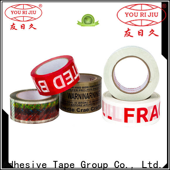 Yourijiu clear tape supplier for carton sealing