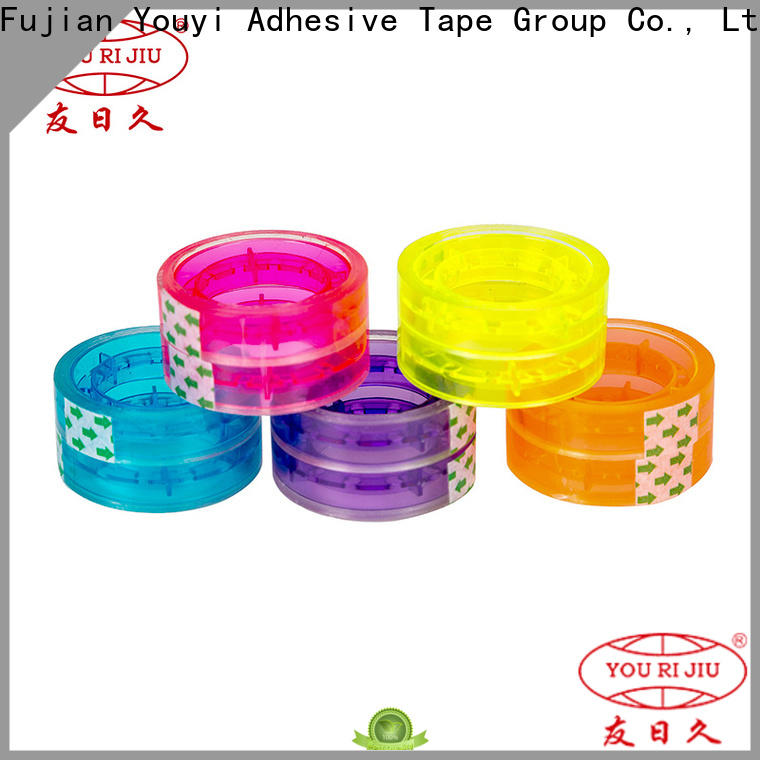 good quality clear tape supplier for carton sealing