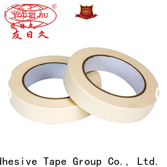 Yourijiu high temperature resistance paper masking tape directly sale for light duty packaging