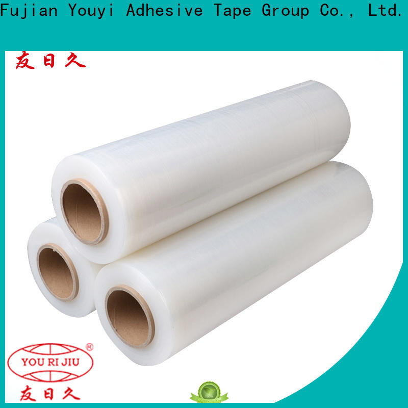Yourijiu stretch film wrap wholesale for hold box