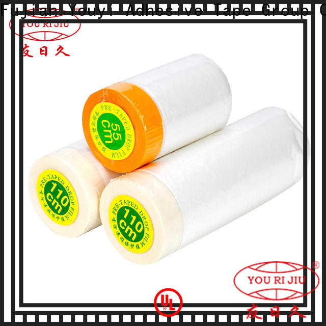 multi purpose Pre-taped masking Film design