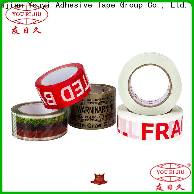 Yourijiu bopp packaging tape anti-piercing for carton sealing