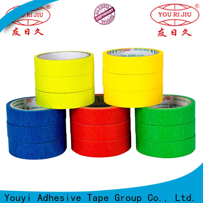 Yourijiu masking tape supplier for woodwork