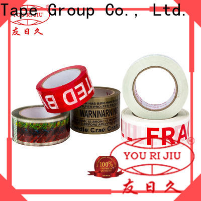 non-toxic bopp printed tape factory price for strapping